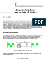 Chapter 6 Diode Applications Power Supplies Voltage Regulators Limiters