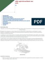 Mejorar La Calidad Del Taller Agrícola Mediante Una Infraestructura Organizada - Monografias