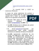 puertos desde la web