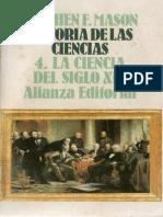 - Historia de Las Ciencias 4 - La Ciencia Del Siglo XIX(1)