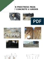 Desain Prestress Pada Precast Concrete u Girder