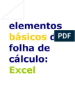 Elementos Basicos Excel