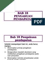 chap18 pengakuan pendapatan