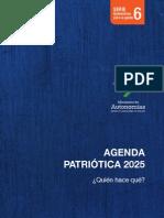 Agenda Patriotica 2025 Quien Haces Que