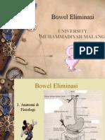 Bowel Eliminasi