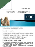 Tema 3 Pensamiento Politico de Platon