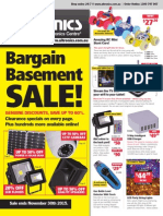 Altronics Oct-Nov Bargain Basement Sale Flyer