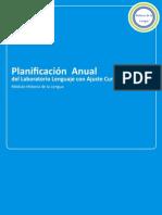Planificación Historia de La Lengua