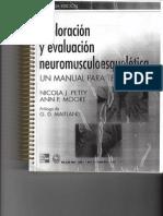 exploracion y evaluacion neuro musculo esqueletican Nicolapetty