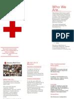 Red Cross Brochure