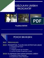 Pengelolaan Limbah Radioaktif