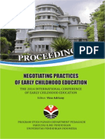 Proceedings Negotiating Practices of Early Childhood Educati