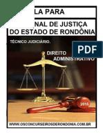 Noções de Direito Administrativo Tjro 2015 - Retificada