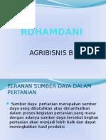 Pip Peranan Sumber Daya Dalam Pertanian