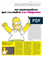 Secretos Matematicos Los Simpsons