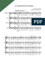Himno Nacional de Colombia - coro