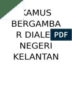 Kamus Bergambar Negeri Kelantan