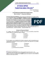 Ayuda SPSS-Respuestas Multiples