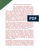 Autoregulacion y Procrastinacion Academica Traducido