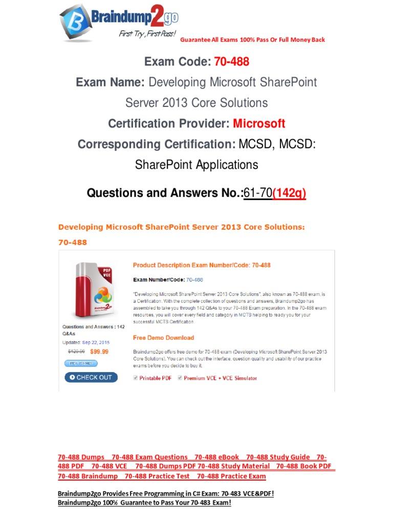 Microsoft Sharepoint Tutorial Pdf