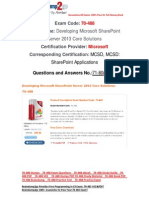 [FREE]Braindump2go Latest 70-488 Exam Questions 71-80