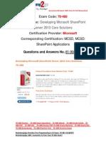[FREE]Braindump2go Latest 70-488 Questions 81-90