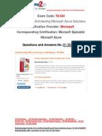 [FREE]Braindump2go Latest 70-534 PDF 100% Pass Guaranteed 81-90