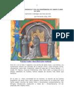 Cristo en La Experiencia y en Las Enseñanzas de Santa Clara de Asís