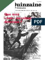 Quinzaine littéraire, 560, été 1990, Que sont « nos » ex-colonies devenues ?