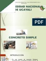 Concreto Simple Construcciones