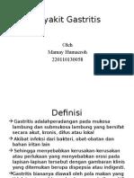 Peyakit Gastritis Edit
