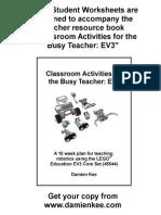 EV3_Student+Worksheets