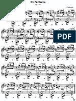 Frederic Chopin  - 24 Preludios