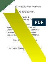 Practica 1 VHDL Decodificador/Codificador