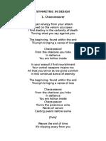 Scar Symmetry Lyrics