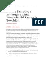 Analisis Semiotica Spots
