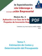 Clase7_estimacion Costos y Presupuesto