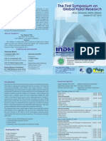 Leaflet-First Symposium on Global Halal Research