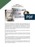 Epicuro_Máximas Capitales