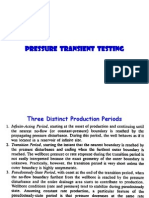 Pressure Transient Analysis