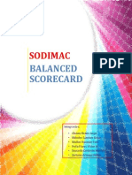 Trabajo de Balanced ScoreCard Sodimac