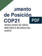 Contribución COP21 UK