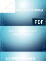 La Pedagogia y Andragogia Lima 700