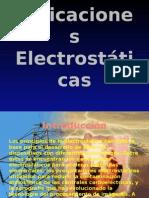 Aplicaciones Electrostáticas