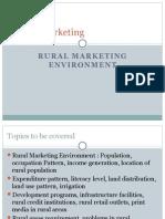 Ruralmarketing Environment(RAM)
