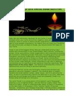 Diwali Pooja Vaastu