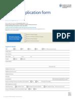 JCU Medicine Application Form