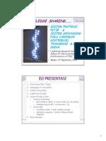 KNOWLEDGE SHARING - 2 - Proteksi Petir - PLN P3BS - 07 Sep 2015 - A.pdf