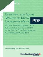 Lachmann_paratext, Genetic Criticism