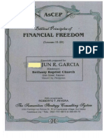 Biblical Principles of Financial Freedom(Lesson 11-20)